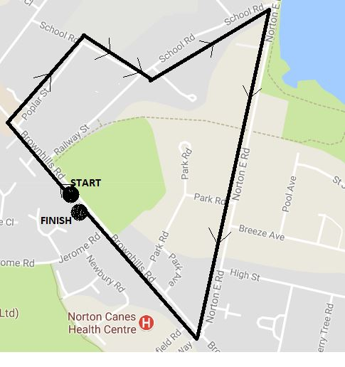 Annual Lantern Parade Route