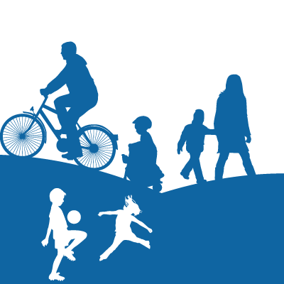 •Healthy Living – such as improvements to indoor and outdoor sport and recreation facilities, open spaces, play areas, countryside footpath and cycleway routes